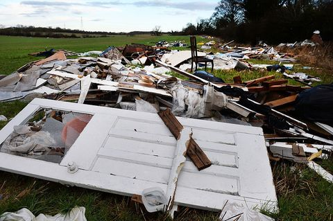 Fly tipping and waste