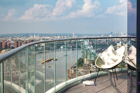 Lombard Wharf - London - penthouse - view - Harrods Estates