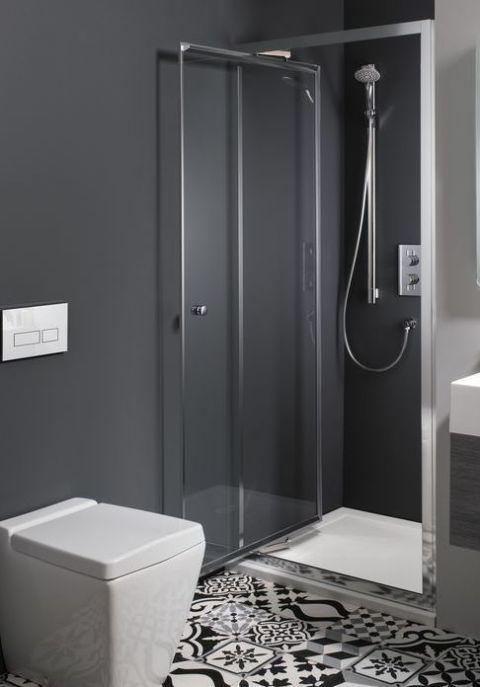 Walk-in shower, The Bathroom Shop