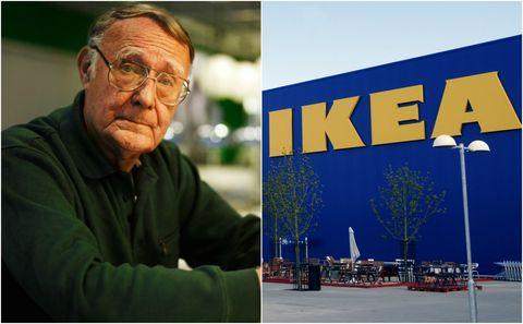 Ikea founder Ingvar Kamprad