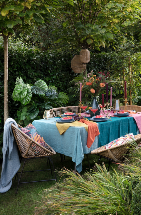 House of Fraser - outdoor living, tropics