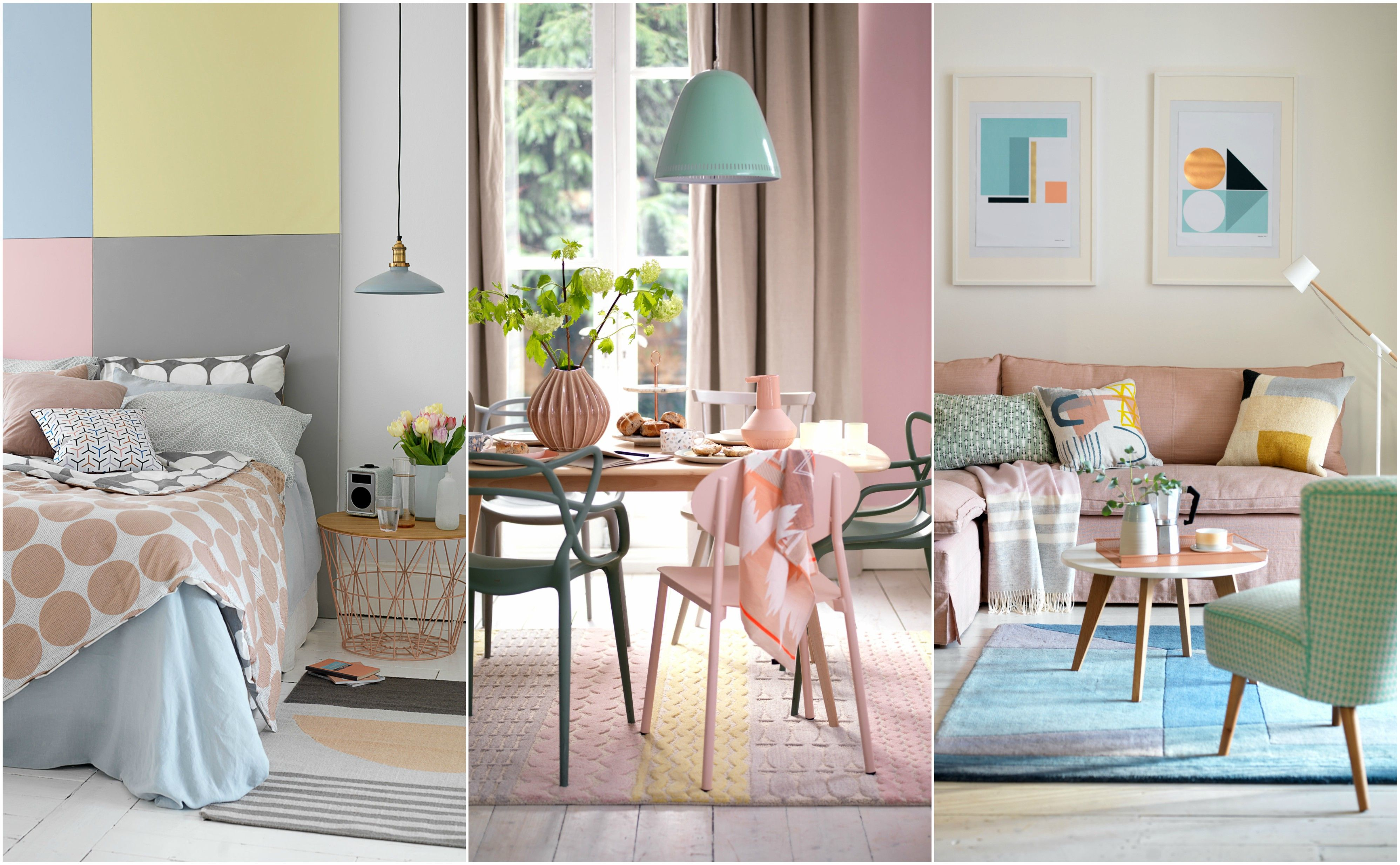 32 Pretty Pastel Decorating Ideas For Your Home   Pastel Colours