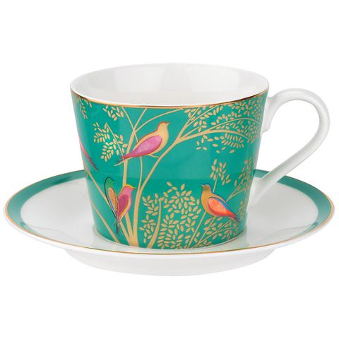 "<p>BUY NOW: <a href=""https://www.johnlewis.com/sara-miller-chelsea-collection-birds-cup-and-saucer-200ml-green/p3358333#media-overlay_show"" target=""_blank"" data-tracking-id=""recirc-text-link"">£22, John Lewis</a></p>"