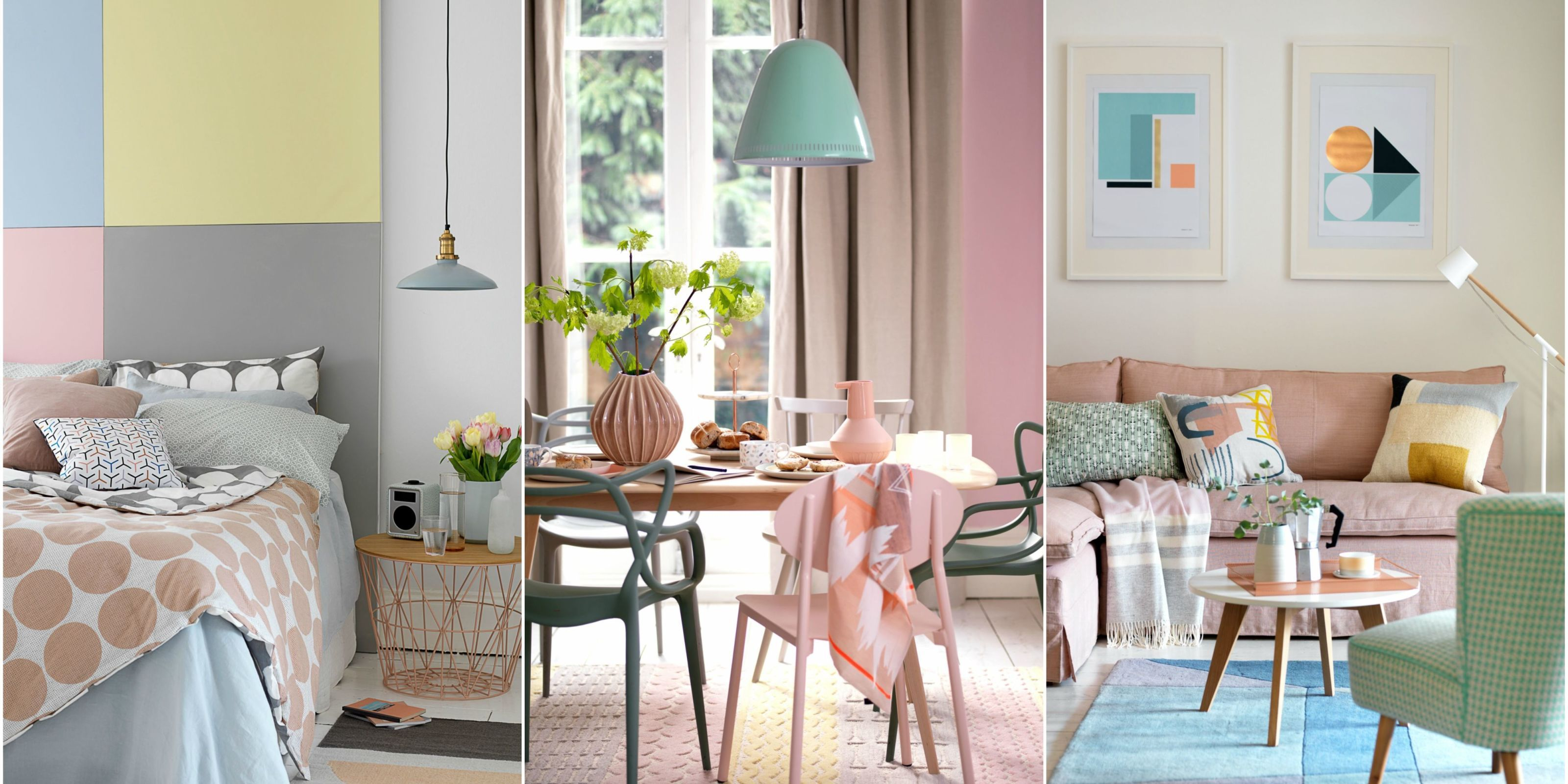 Decorating With Soft Pastels   Style Inspiration. Styling By Hannah Deacon,  Photography By Tim