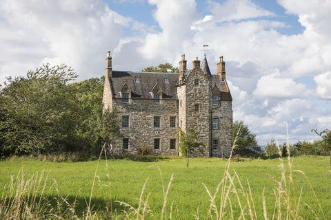 Illieston Castle - Broxburn - Scotland - exterior - stairs - Savills