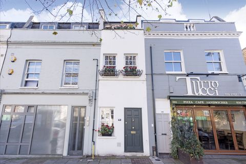 193 St Johns Hill - The Slim House - London - outside - Savills