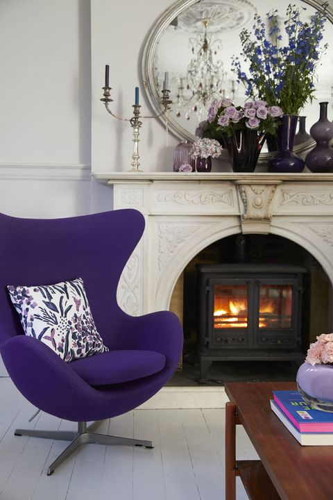 hillarys and sophie robinson team up to style a home with pantones ultra violet