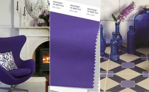 12 Really Useful Ultra Violet Decorating Tips - Shades of Purple