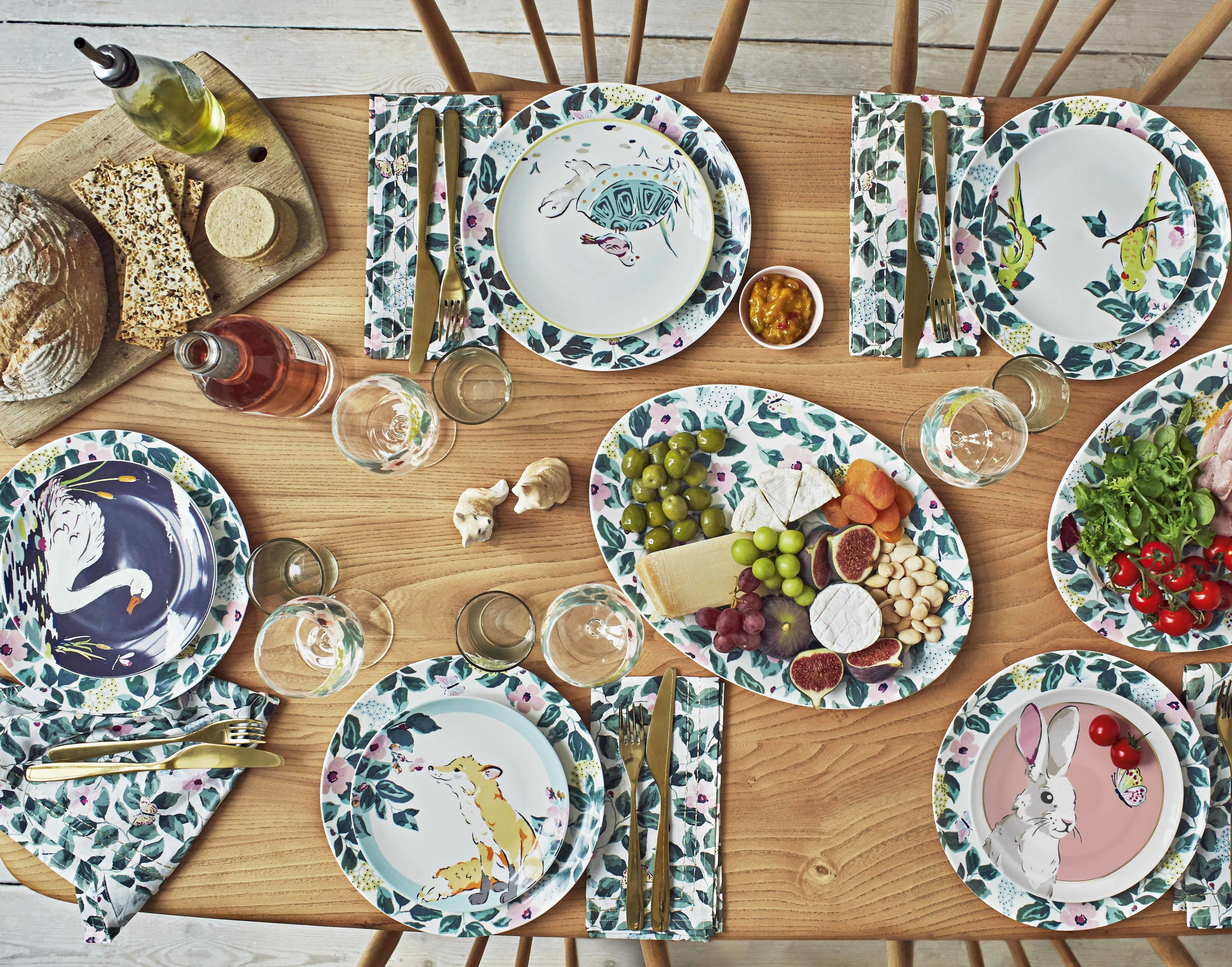 Cath Kidston & Cath Kidston\u0027s New Woodland-Themed Home Collection Is A Must For ...