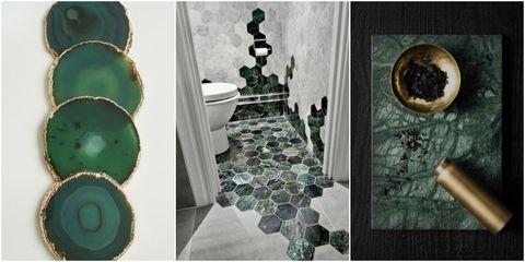 green marble - Pinterest trend