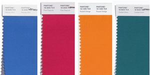 Pantone Autumn Winter 2018 colour palette