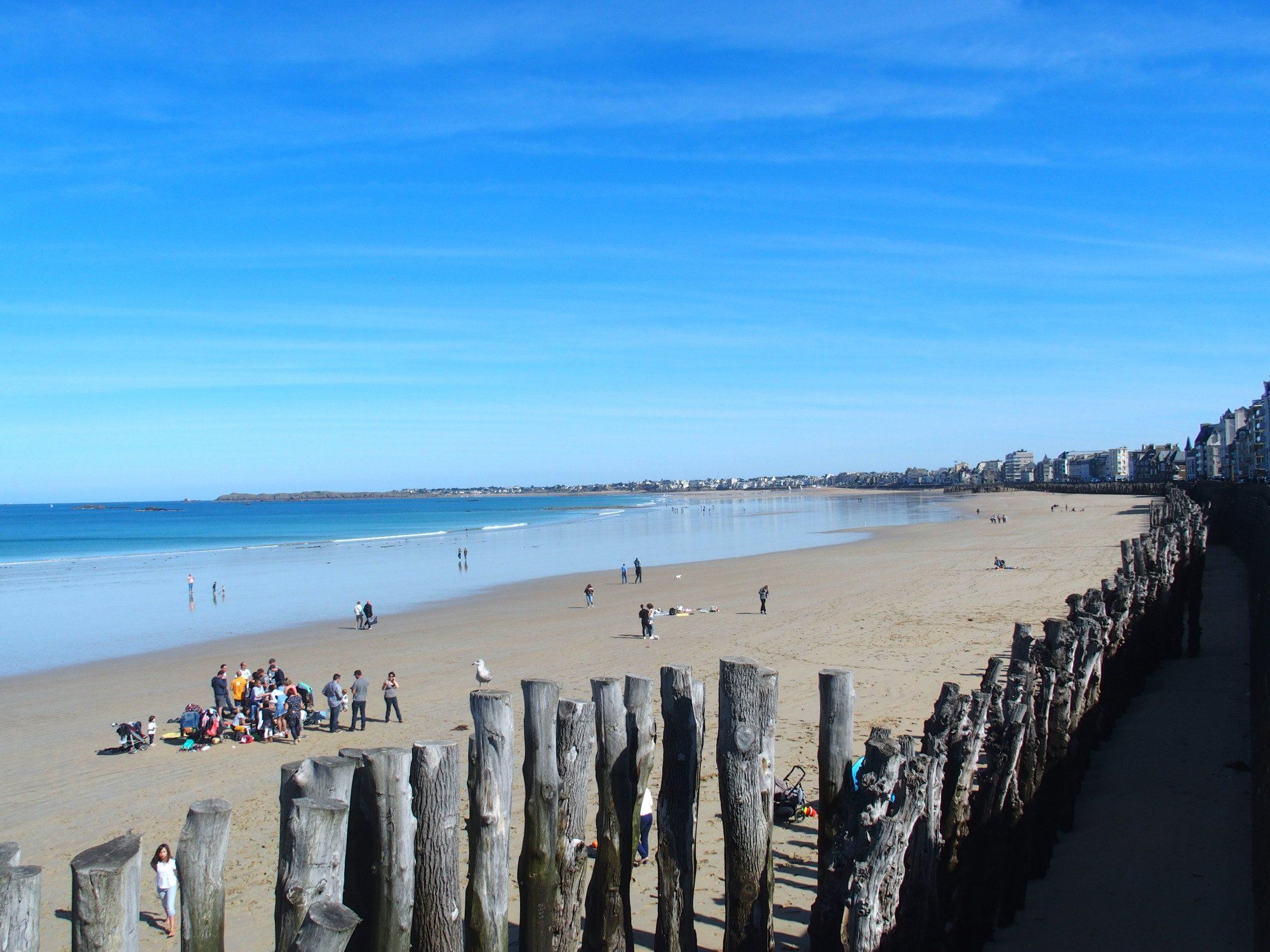 Plage du Silon Brittany France best beaches