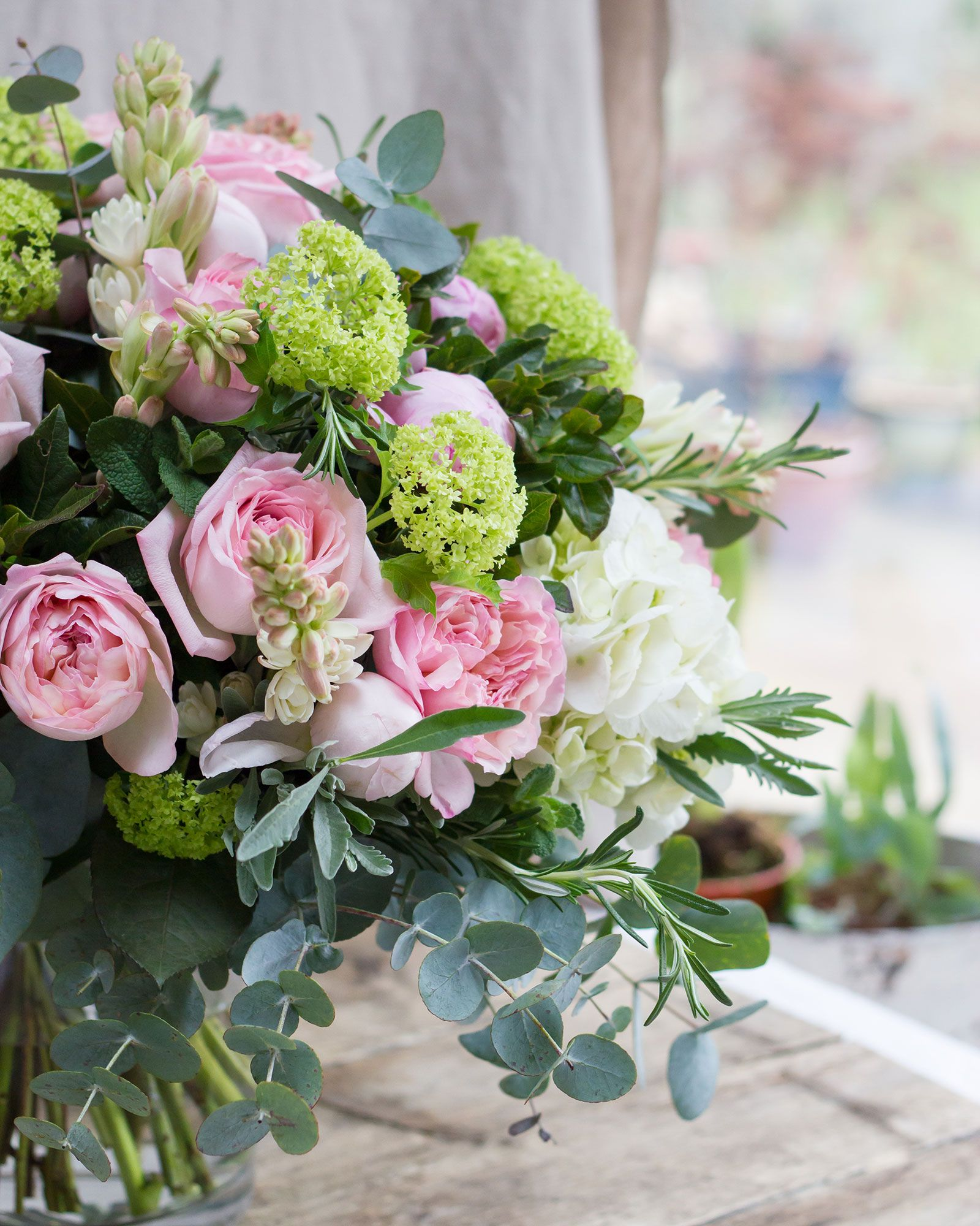 """<p>'Of all of the senses, smell is believed to be most strongly linked to emotion, so choosing flowers and foliage with a beautiful scentis imperative. For example, the fragrance of a garden roseoften brings back so many memories of growing up. Roses are a popular choice for Mother's Day and I would always suggest picking garden roses with scent (lots of roses have been genetically modified to have their scent gene removed).</p><p>'Princess Charlene and Prince Jardinier are two of my personal favourites that we grow on our Fairtrade farm at this time of year – enjoying how their scent develops and the way they open in the vase is so beautiful, almost ethereal.'</p><p><span class=""""redactor-invisible-space"""" data-verified=""""redactor"""" data-redactor-tag=""""span"""" data-redactor-class=""""redactor-invisible-space""""></span></p>"""
