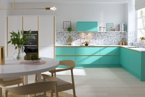 First Look At Wren Kitchens' Pastel Coloured Macaroon Collection ...