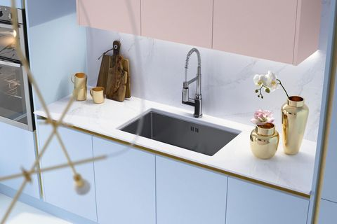 First Look At Wren Kitchens\' Pastel Coloured Macaroon Collection ...