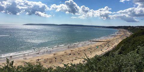 Bournemouth beach best in Europe