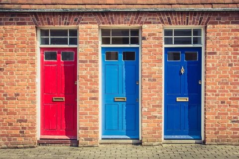 Your Choice Of Front Door Colour Can Reveal A Lot About Your Personality
