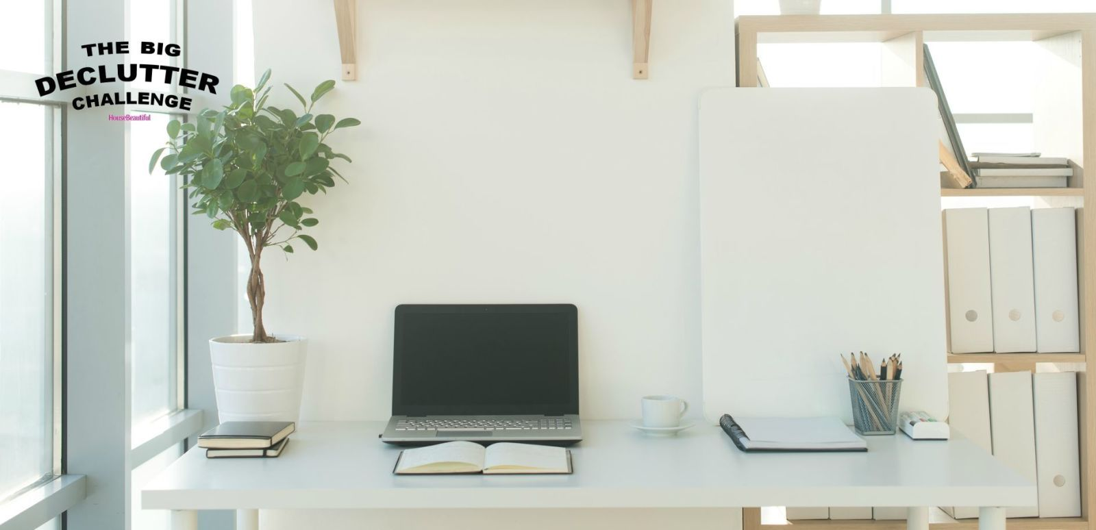 Superior Home Office   Minimalist   Big Declutter Challenge Good Ideas