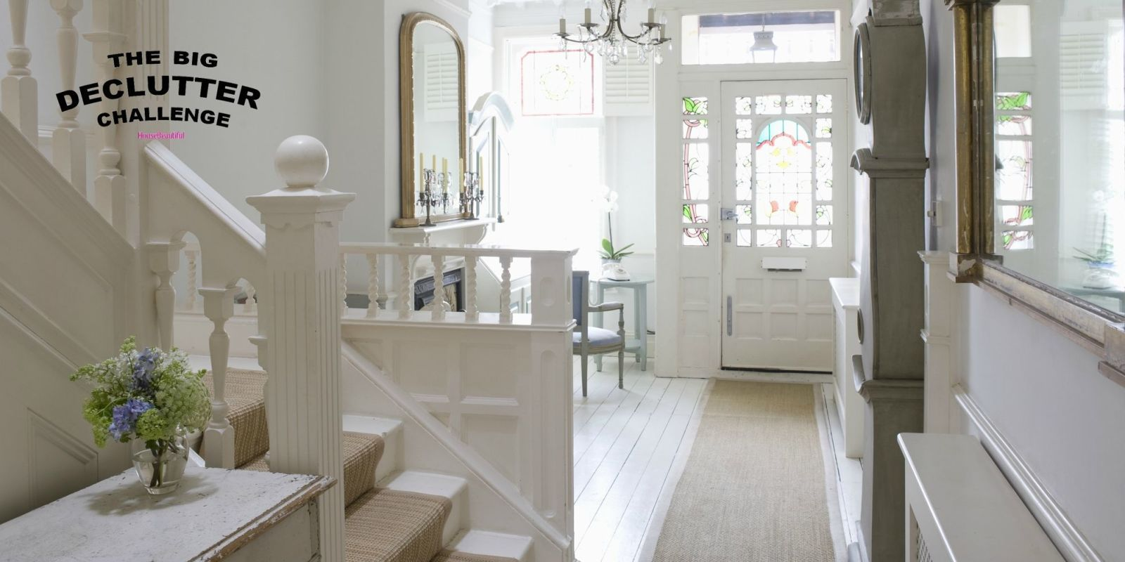 The Big Declutter Challenge - House Beautiful - hallway & How To Create A Tidy Organised and Clutter-Free Hallway - The Big ...