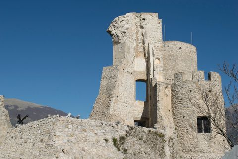Castle Of Morano Calabro - Italy