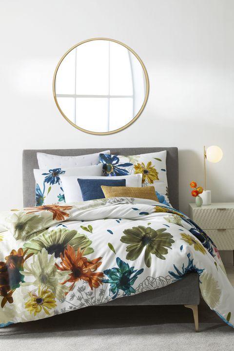 Bedroom Furniture Trends Inside Sateen Collage Floral Duvet West Elm Bedroom Design Trends 2018 Modern Ideas