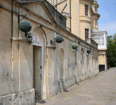 The Orangery - Sydney Place - Bath - door - Savills