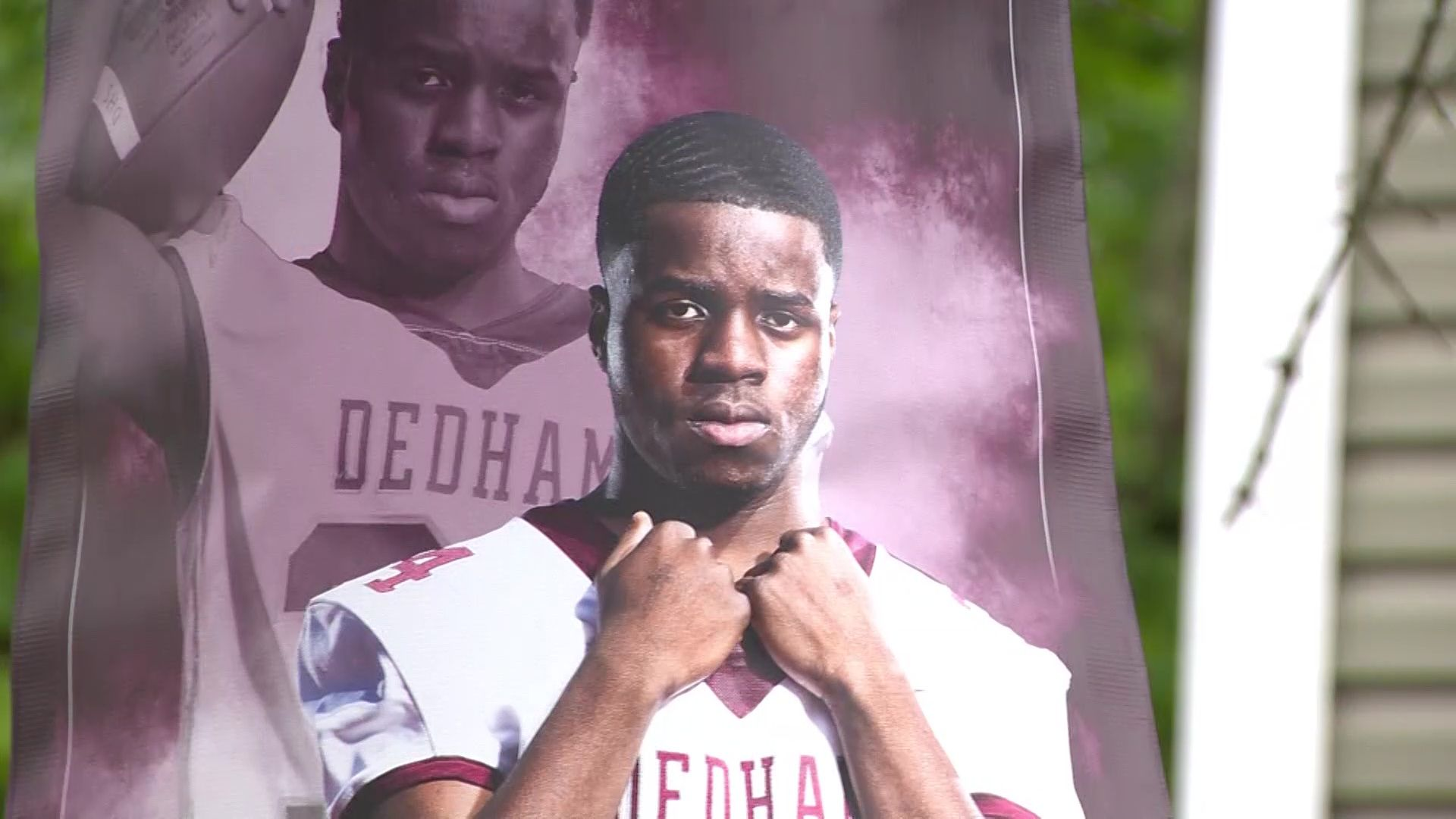 'Justice for Alonzo;' Family demands answers after Dedham teen dies following grad party