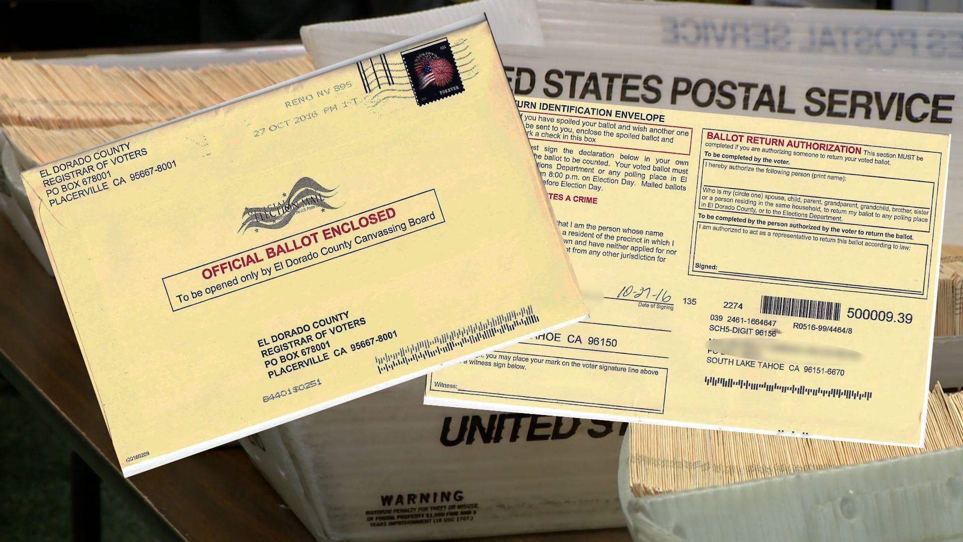 South Lake Tahoe woman's ballot found in Utah