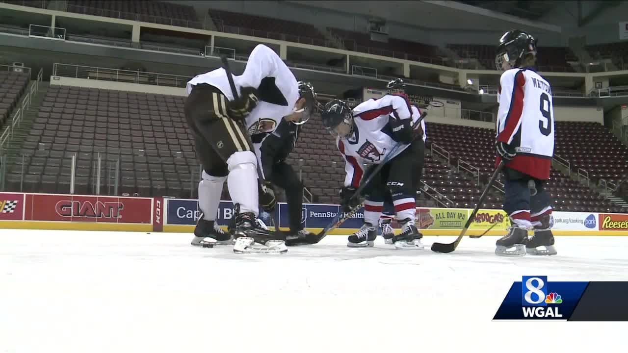 Children With Special Needs Hit Ice With Hershey Bears