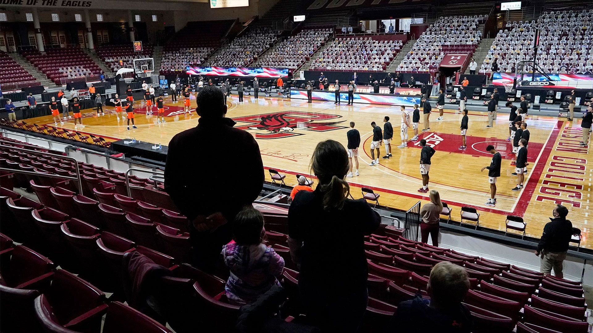 Boston College men's, women's basketball on pause due to COVID-19