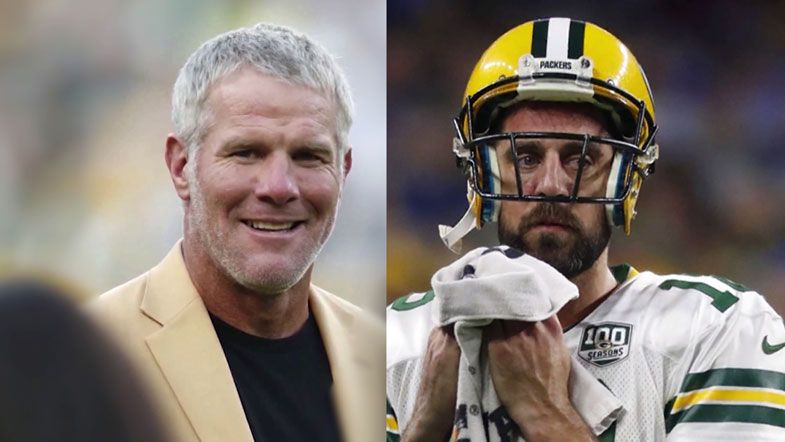Favre: 'If Rodgers has a grudge ... he ain't budging'
