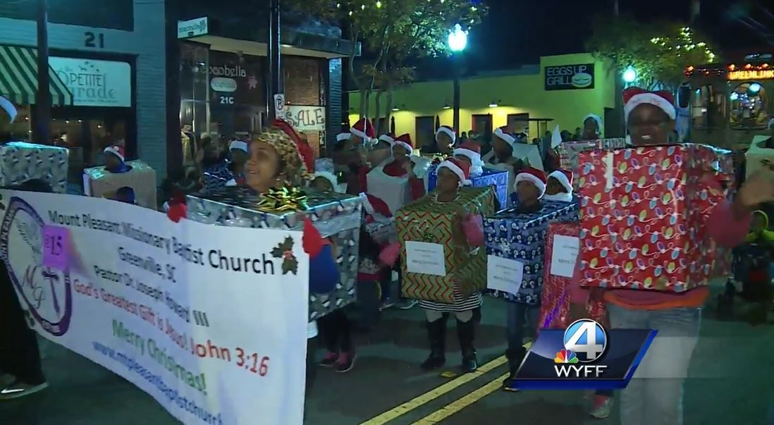 greenville 2016 christmas parade opens downtown holiday season - Greenville Sc Christmas Parade