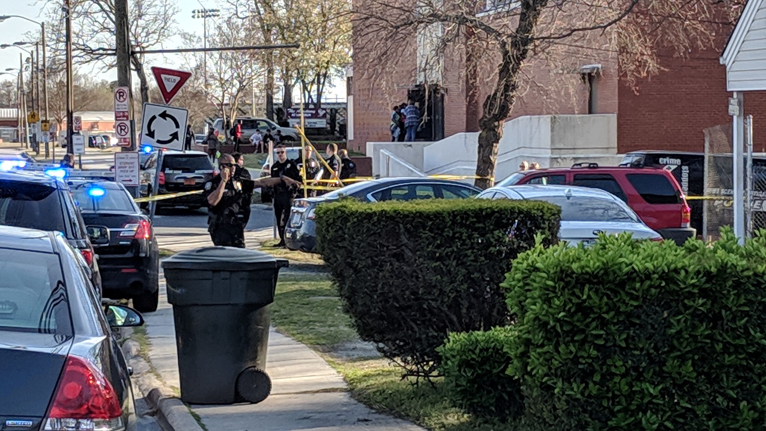 Shooting victim found near Dudley High School in Greensboro
