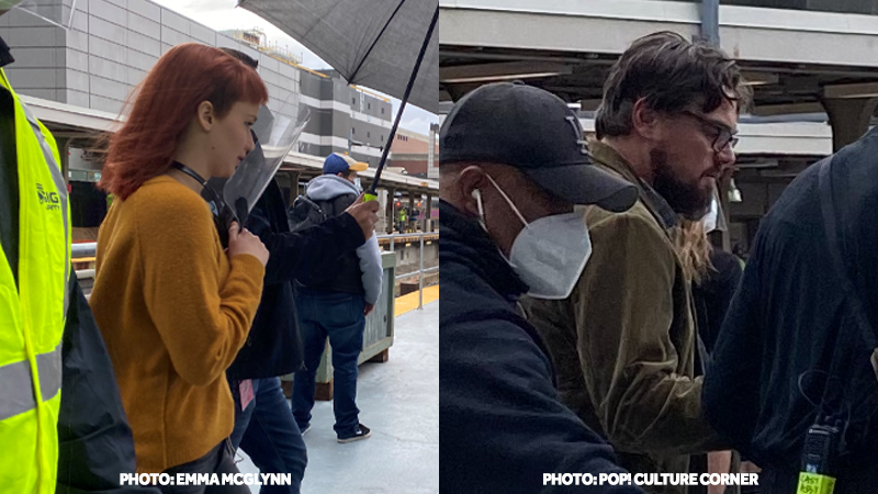 Jennifer Lawrence, Leonardo DiCaprio spotted in Boston while filming new movie