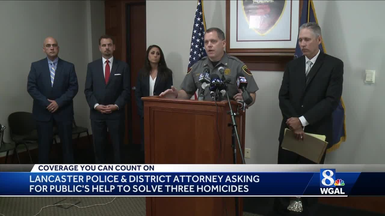 Police, district attorney ask for public's help in solving