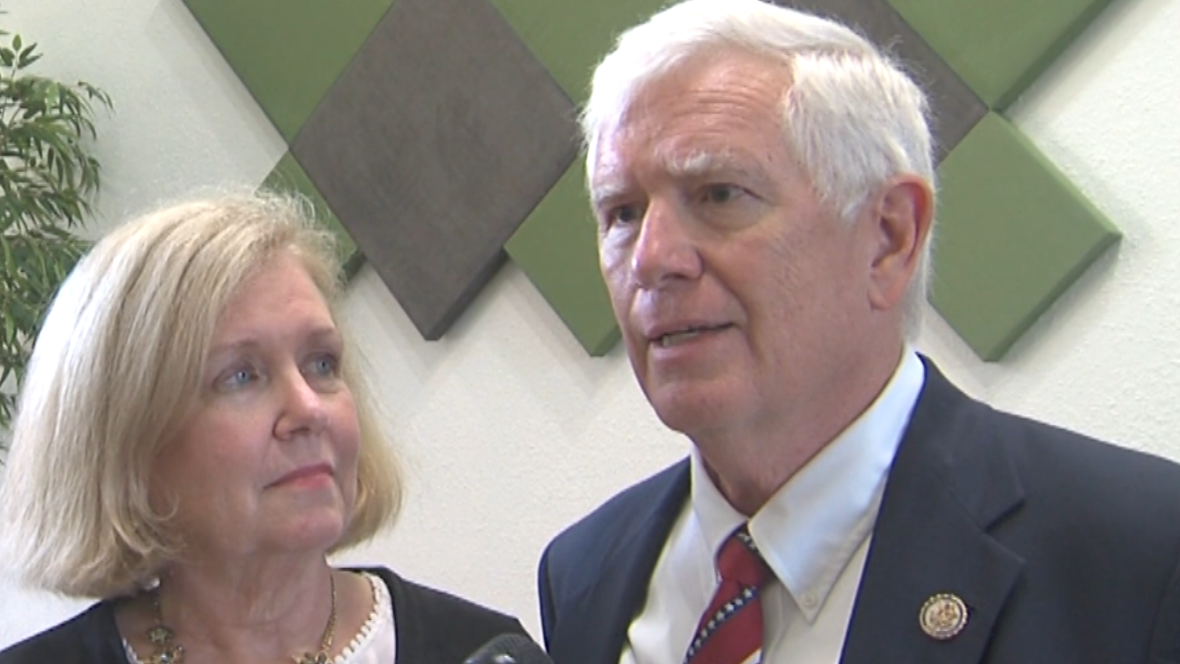 Congressman Mo Brooks and his wife talk about process server entering their Alabama home