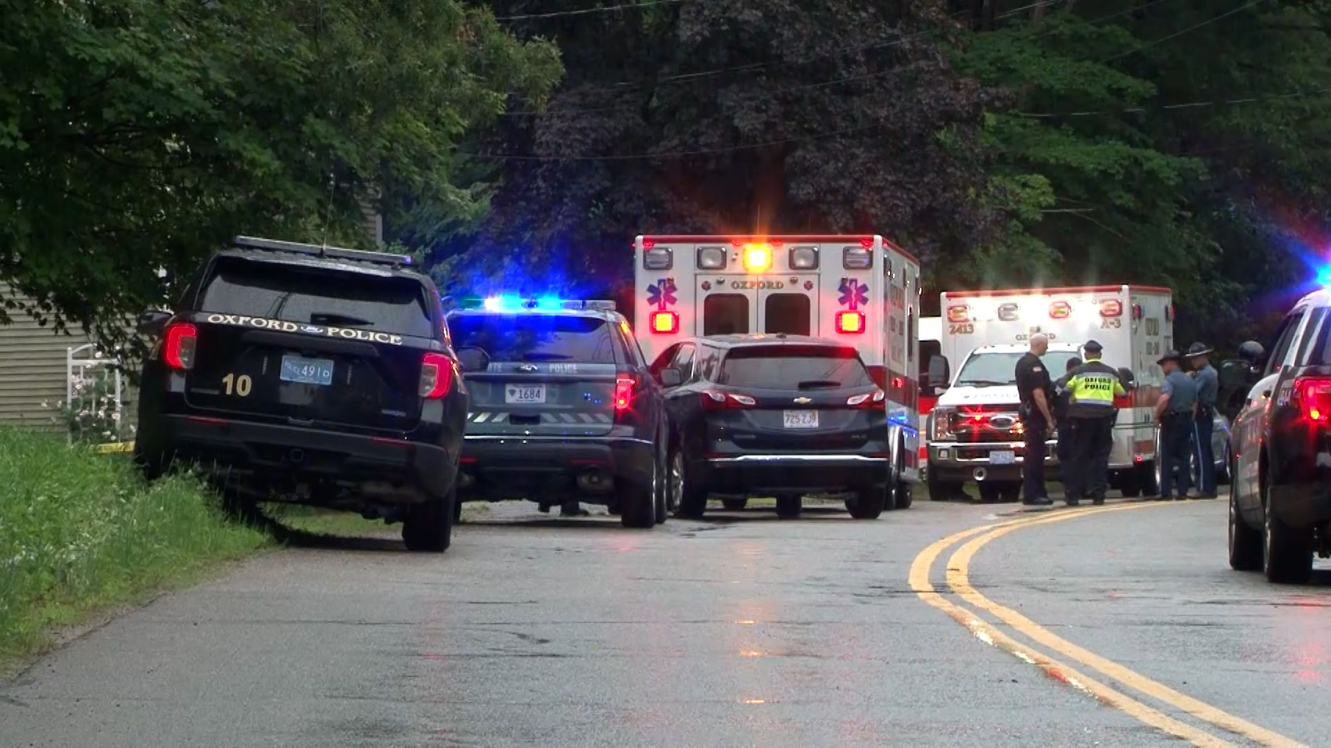 Dead couple's children in home during apparent murder-suicide in Oxford, DA says