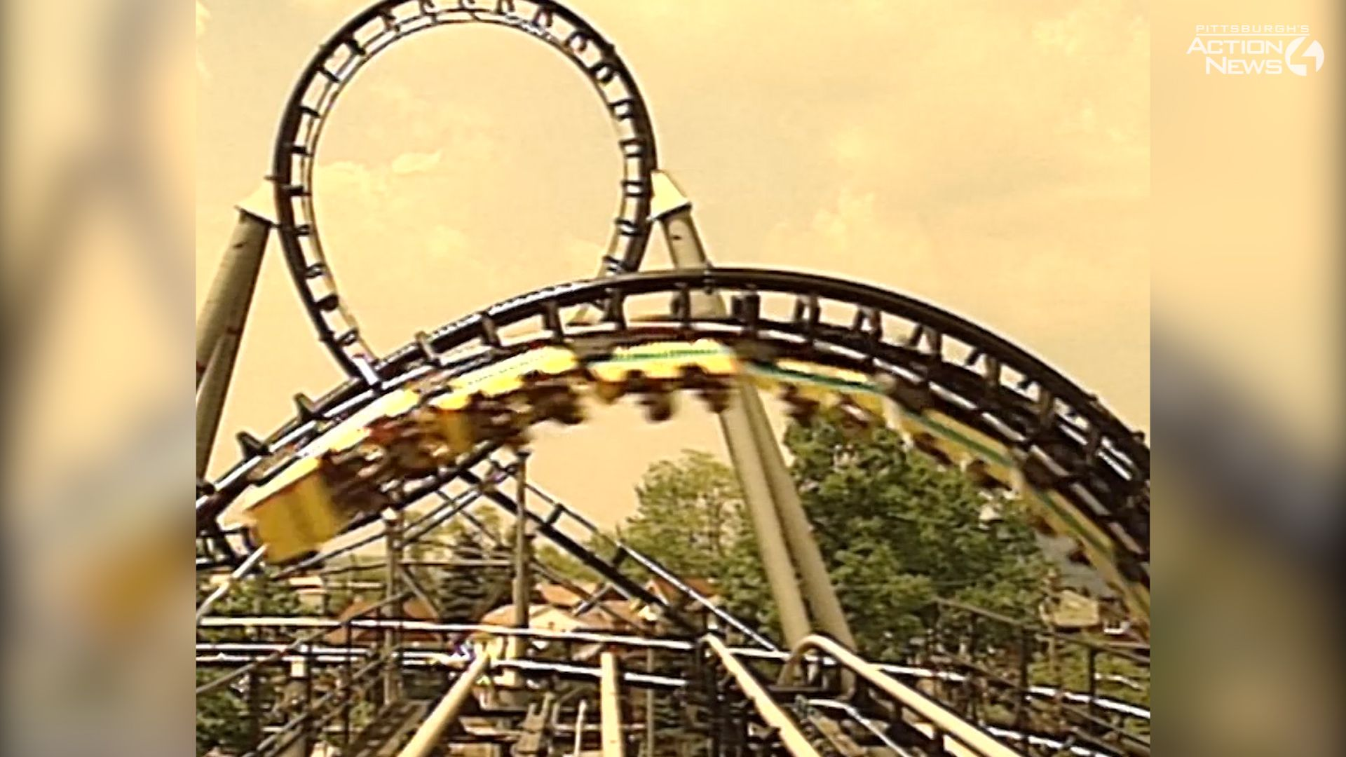 ARCHIVE: The Steel Phantom opens at Kennywood Park in 1991