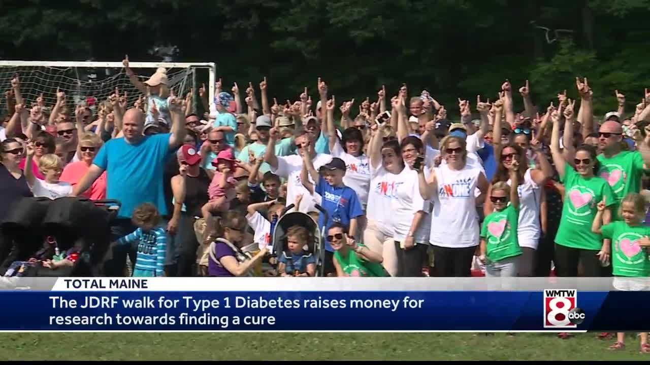 JDRF walk raises money to find a cure for Type 1 diabetes