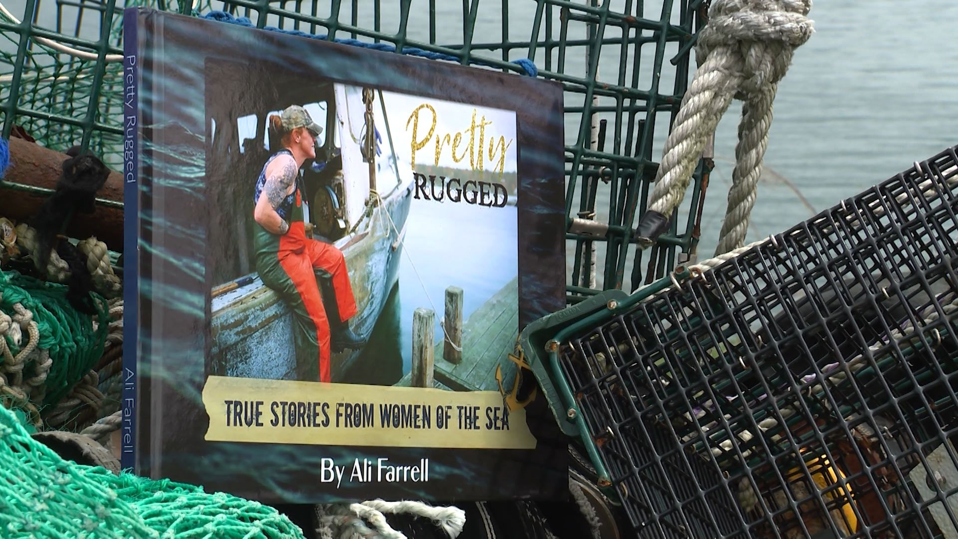 Author tells stories of Maine's 'pretty rugged' women lobstermen