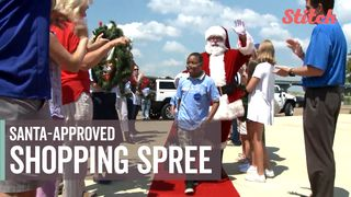 13 year old battling blood condition gets christmas in july shopping spree
