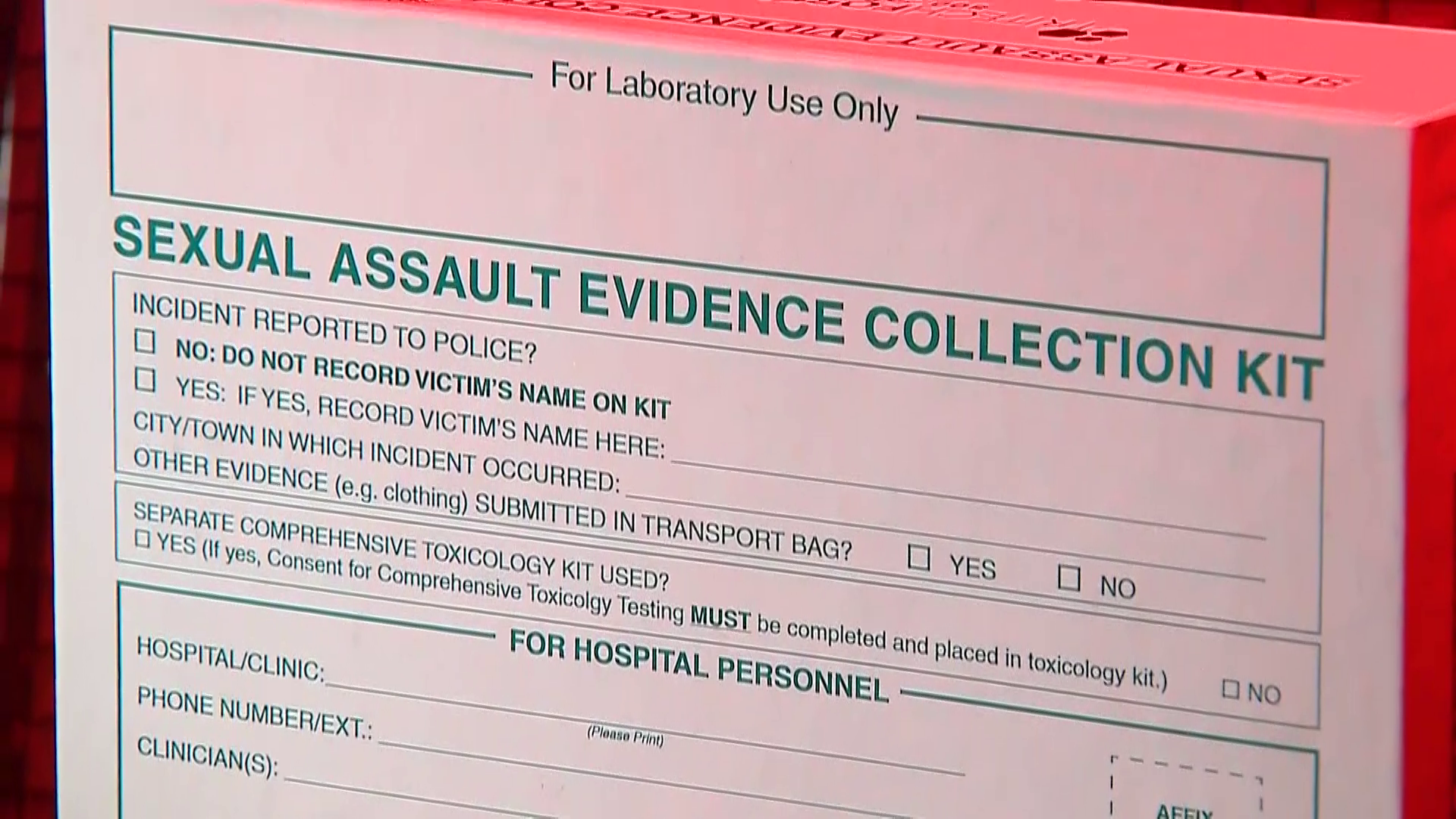 Advocates fear watered down rape kit reform in Massachusetts State House