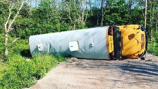 School bus involved in York County crash