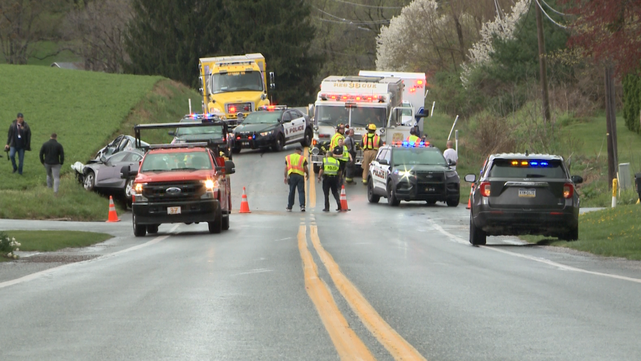 York County coroner identifies woman killed in Windsor Township crash
