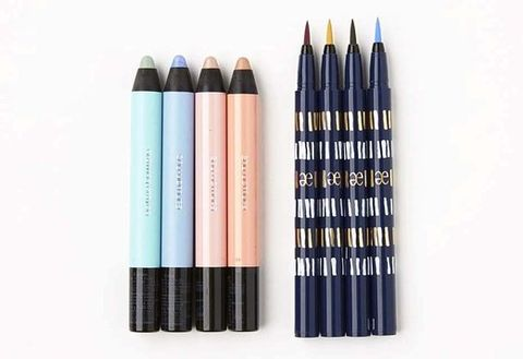 Blue, Brown, Writing implement, Stationery, Purple, Office supplies, Pink, Style, Colorfulness, Electric blue,