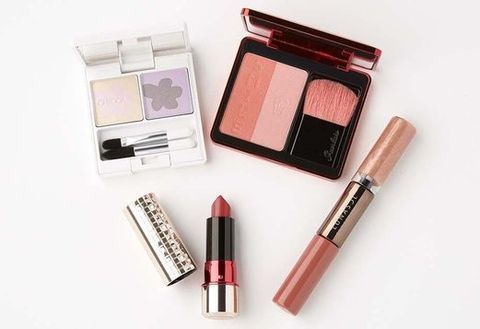 Brown, Lipstick, Red, Pink, Stationery, Tints and shades, Peach, Amber, Cosmetics, Beauty,