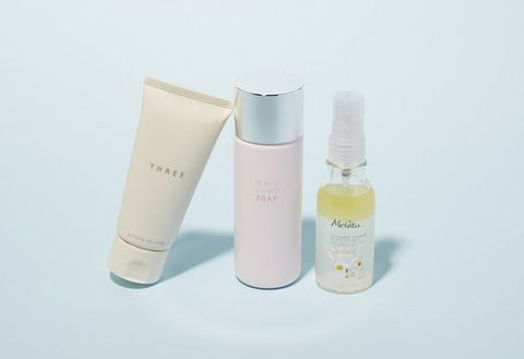 Liquid, Product, Fluid, Bottle, Lavender, Peach, Aqua, Cosmetics, Beauty, Violet,