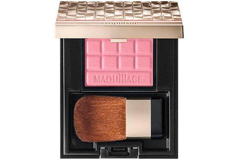 Brown, Office equipment, Lipstick, Peach, Cosmetics, Eye shadow, Tan, Brush, Beige, Rectangle,