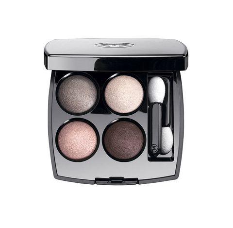 Brown, Public address system, Box, Eye shadow, Peach, Cosmetics, Silver,