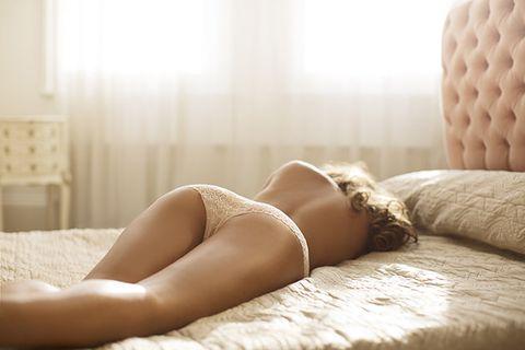 Comfort, Human leg, Room, Bed, Thigh, Undergarment, Linens, Lingerie, Knee, Bedroom,